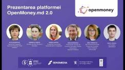Prezentarea platformei OpenMoney.md 2.0