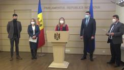 Conferință de presă organizată de Parlamentul Republicii Moldova în contextul Zilei mondiale de luptă împotriva HIV/SIDA