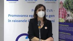 Semnarea acordurilor de parteneriat cu organizațiile societății civile în cadrul Proiectului EVA – Promovarea egalității de gen în raioanele Cahul și Ungheni