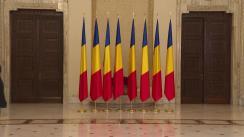 Ceremonie de decorare a unor personalități civile din domeniul medical care au contribuit la gestionarea epidemiei de COVID-19, cu prilejul Zilei Naționale a României