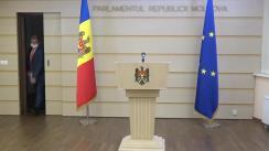 """Briefing de presă susțiinut de deputatul fracțiunii parlamentare """"Partidul ȘOR"""", Igor Himici"""