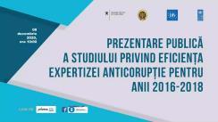 Prezentarea Studiului privind eficiența expertizei anticorupție, elaborat cu suportul proiectului PNUD Moldova