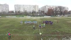 Meciul de Rugby între CS Năvodari - CS Știința Petroșani. Finala Diviziei Naționale de Seniori