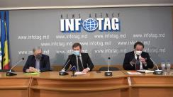 """Conferință de presă susținută de avocații Victor Munteanu, Stanislav Pavlovschi și Ion Păduraru cu tema """"Adevărul despre S.A. MOLDASIG"""""""