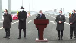 Deschiderea Tronsonului de Autostradă A7 - varianta ocolitoare Bacău