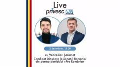 Interviu Live cu Iurie Ciocan și Veaceslav Șaramet, Candidat Diaspora la Senatul României din partea Partidului PRO România