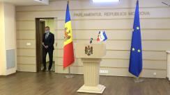 Briefing de presă susținut de președintele PRO MOLDOVA, Andrian Candu