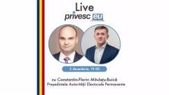 Interviu Live cu Iurie Ciocan și Constantin-Florin Mitulețu-Buică, Președintele Autorității Electorale Permanente