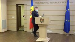 Declarațiile lui Iurie Reniță în timpul ședinței Parlamentului Republicii Moldova din 3 decembrie 2020
