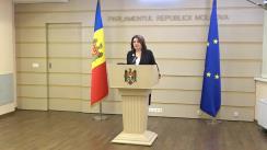 Declarațiile Monicăi Babuc în timpul ședinței Parlamentului Republicii Moldova din 3 decembrie 2020