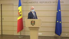 Declarație de presă susținută de fracțiunea Partidului Democrat din Moldova