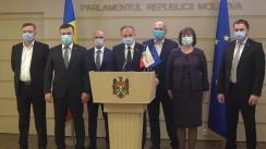 Declarație de presă susținută de Andrian Candu în timpul ședinței Parlamentului Republicii Moldova din 4 decembrie 2020