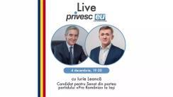 Interviu Live cu Iurie Ciocan și Iurie Leancă, Candidat la Senatul României din partea Partidului PRO România la Iași