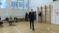 Exprimarea votului pentru alegerile parlamentare de către Președintele României, Klaus Iohannis