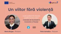Lecție publică de educație juridică elevilor de la Centrul de Excelență în Economie și Finanțe din Chișinău
