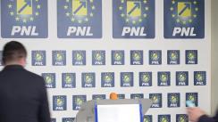 Declarații după închiderea secțiilor de votare la sediul PNL Iași