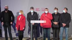 Declarațiile liderilor Partidului Social Democrat după închiderea secțiilor de votare