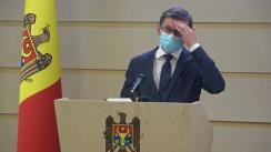 Briefing de presă susținut de deputații Fracțiunii PAS, Igor Grosu