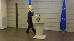 Declarațiile lui Chiril Moțpan după ședința Parlamentului Republicii Moldova din 7 decembrie 2020