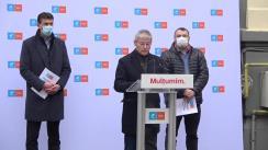 Conferință de presă susținută de Dacian Cioloș și Dan Barna