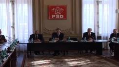 Ședința Biroului Permanent Național al PSD