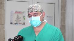 Declarațiile lui Corneliu Moroșanu, chirurg vascular în cadrul spitalul clinic Doctor C.I. Parhon din Municipiul Iași, despre intervențiile de ieri de transplant renal