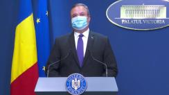 Declarații de presă susținute de prim-ministrul interimar al României, Nicolae-Ionel Ciucă