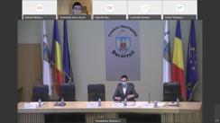 Ședința extraordinară a Consiliului General al Municipiului București din 8 decembrie 2020