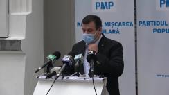 Conferință de presă susținută de Președintele Partidului Mișcarea Populară, Eugen Tomac
