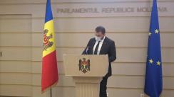 Briefing susținut de deputatul Fracțiunii PDM, Nicolae Ciubuc