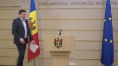 Briefing de presă susținut de către deputatul PSRM, Vladimir Odnostalco