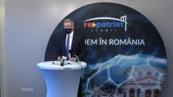 Conferința de presă RePatriot dedicată promovării României ca destinație turistică pe piața internațională și creșterii turismului de incoming cu sprijinul românilor de pretutindeni