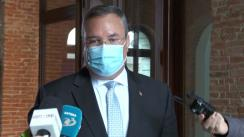 Declarație de presă susținută de prim-ministrul României, Nicolae-Ionel Ciucă