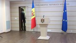 """Briefing de presă susținut de deputatul PAS, Radu Marian, cu tema """"Propunerile PAS pentru mediul de afaceri la politica bugetar-fiscală și bugetul pentru anul 2021"""""""