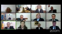 Ședința Curții de Conturi de examinare a raportului auditului situațiilor financiare ale Universității Agrare de Stat încheiate la 31 decembrie 2018