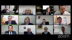 """Ședința Curții de Conturi de examinare a raportului auditului privind conformitatea gestionării resurselor financiare publice și a patrimoniului public de către ÎS """"Calea Ferată din Moldova"""" în perioada 2018-2019"""