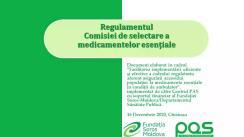 Prezentarea proiectului Regulamentului Comisiei de selectare a medicamentelor esențiale