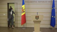 """Briefing de presă suținut de deputații PAS, Petru Frunze și Veronica Roșca, cu tema """"Amendamentele PAS pentru APL-uri la politica bugetar-fiscală și bugetul pentru 2021"""""""