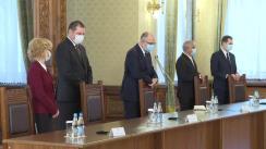Consultări cu partidele și formațiunile politice parlamentare - Uniunea Democrată a Maghiarilor din România (UDMR)