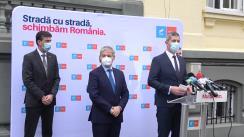 Declarațiile lui Dan Barna și Dacian Cioloș după consultări cu partidele și formațiunile politice parlamentare