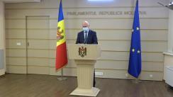 Briefing de presă susținut de către deputații Fracțiunii Partidului Democrat din Moldova