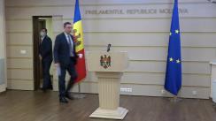 Briefing de presă susținut de către deputații Fracțiunii PSRM