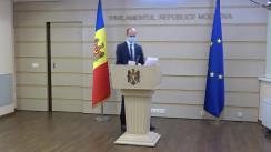 """Briefing de presă susținut de deputatul Fracțiunii Platforma DA, Liviu Vovc, cu tema """"Interesele PSRM-ȘOR vor conduce la colapsul pieții farmaceutice"""""""