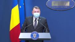 Conferință de presă după ședința Guvernului României din 17 decembrie 2020