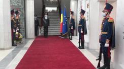 Depuneri de flori cu prilejul aniversării a 30-a de la crearea Poliției Naționale la plăcile comemorative și monumentul polițiștilor căzuți la datorie