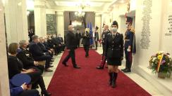 Evenimentul festiv de menționare a angajaților și veteranilor din cadrul Ministerului Afacerilor Interne