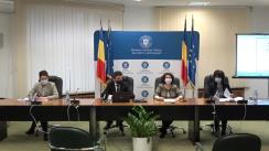 Conferință de presă organizată de Ministerul Lucrărilor Publice, Dezvoltării și Aministrației de prezentare a stadiului absorbției și gradul de contractare a proiectelor finanțate cu fonduri europene prin programele coordonate de MLPDA