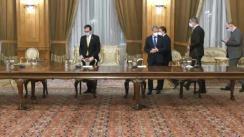 Evenimentul de semnare Acordului de guvernare PNL, USR-PLUS, UDMR