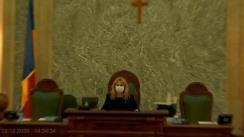 Ședința în plen a Senatului României din 22 decembrie 2020