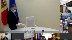 Ședința Guvernului Republicii Moldova din 22 decembrie 2020
